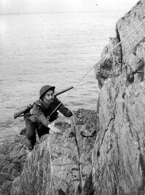 Walki we Włoszech pokazały, że trening wspinaczkowy komandosów był bardzo przydatny na polu bitwy.