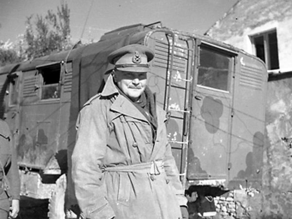 Generał Bernard Freyberg. To on doprowadził do nalotu na Monte Cassino.