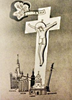 """Krzyżowa droga Polski? (""""Polska Walcząca"""", Żołnierz Polski na Obczyźnie, Londyn nr 14-15/1942)."""