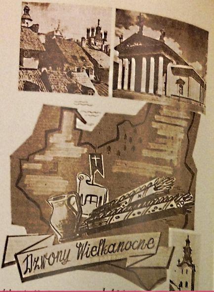 """A następna Wielkanoc oby w wolnej Polsce! Myśleli żołnierze... (""""Dziennik Polski"""", Londyn, nr 533 /1942)."""