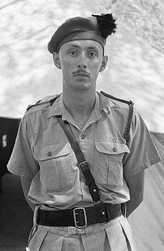 Podpułkownik Geoffrey Keyes. To on dowodził komandosami mającymi pojmać lub zabić Rommla.