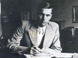 Jan Karski, najsłynniejszy kurier polskiego podziemia. Zdjęcie wykonane w 1935 r. (źródło: Muzeum Historii Polski, dzięki uprzejmości Archiwum Instytutu Hoovera w Kalifornii