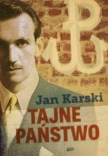 """W naszym konkursie można było wygrać trzy egzemplarze książki Jana Karskiego, """"Tajne państwo"""" (Znak Horyzont 2014)."""