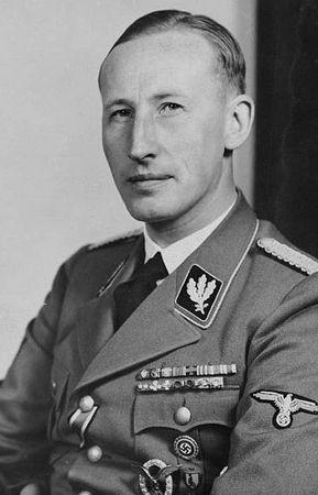 SS-Obergruppenführer Reinhard Heydrich, to on stał za powstaniem Salonu Kitty (Bundesarchiv; lic. CC-BY-SA).