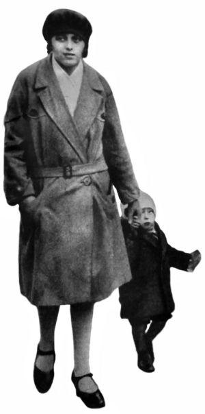 Małgorzata Genzlerowa wraz z córką.