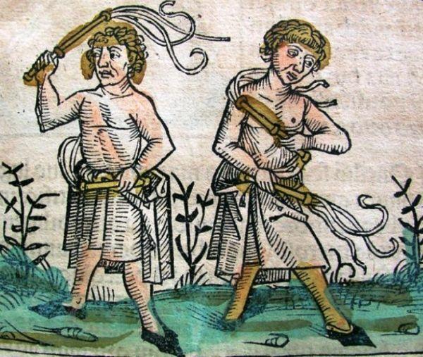 Chłosta. Najlepsze rozwiązanie dowolnego problemu według ludzi średniowiecza. Także kościelnego gadulstwa.
