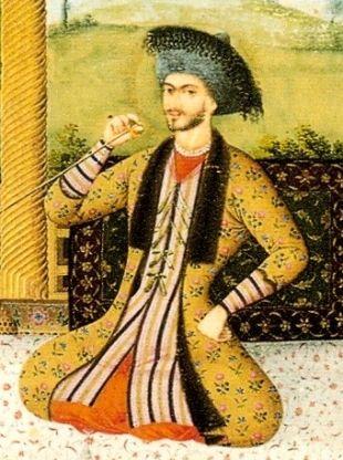 ...rzecz jasna TYMI Persami. Na ilustracji szach Soliman I.