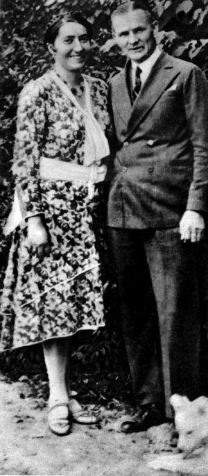 Szczęśliwi narzeczeni: Zyta Woroniecka i Bruno Boy. Za trzy miesiące ona wypali mu z pistoletu prosto w plecy.