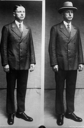 Peter Kürten - wampir z Düsseldorfu na zdjęciu policyjnym (fot. Bundesarchiv; lic. CC ASA 3.0).