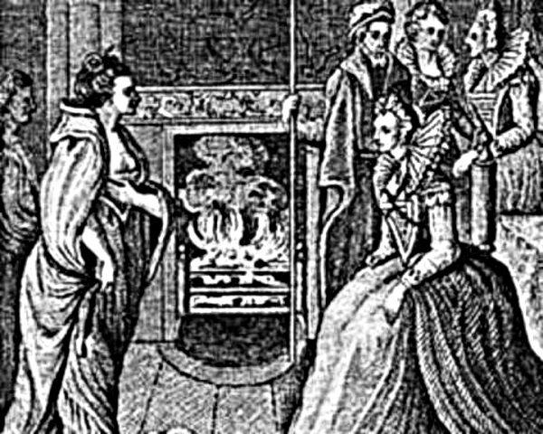 """""""Morska Królowa Connaught"""" z wizytą u królowej brytyjskiej Elżbiety I."""