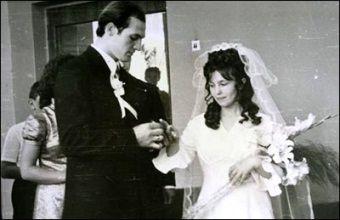 A taka była z nich piękna para... Ślub państwa Łukaszenków.