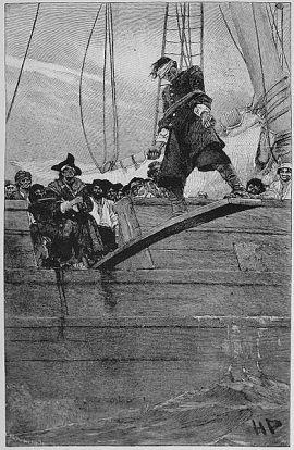 Sadie Koza hołdowała starej pirackiej zasadzie - kto nie słucha kapitana na deskę i za burtę.