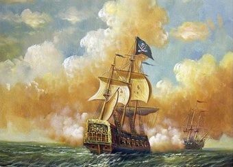 Piraci w pogoni z kolejną ofiarą... Muszą się spieszyć, przecież został im rok, może dwa życia!