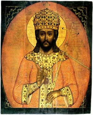 Chrystus jako car. A może raczej car jako Chrystus?