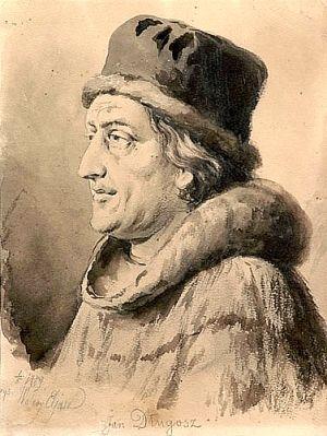 Jan Długosz. Wielki plotkarz, bez którego historia Jakuba Boglewskiego nie przetrwałaby do naszych czasów.