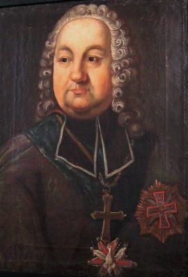 Biskup Kajetan Sołtyk. Robił dobrą minę do złej gry i z polowaniem na wampiry radził sobie po swojemu.