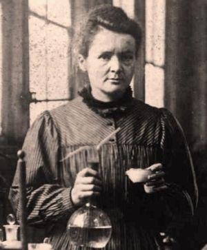 Czyżby członkowie Akademii Francuskiej zamiast takiej Marii Skłodowskiej-Curie...