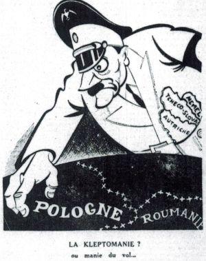 Hitler kleptoman...