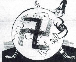 ...i megaloman! Francuskie rysunki satyryczne z 1939 roku.