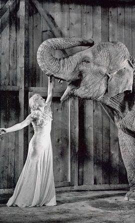 """Lubow Orłowa w filmie """"Cyrk"""" (1936)."""