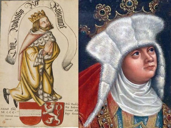 Rudolf i Ryksa mogli zostać całkiem udaną parą gdyby nie pech królewny. Świeżo poślubiony mąż dość szybko pożegnał się z życiem.