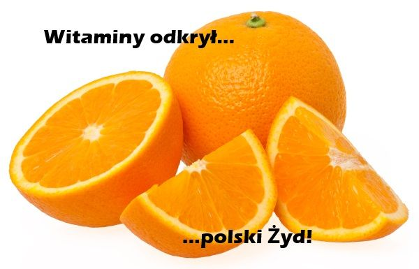 Odkrycie witamin zawdzięczamy polskiemu Żydowi!