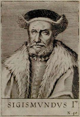 Zygmunt Stary. Na młodzieniaszka to on nie wyglądał. Przynajmniej na portretach sporządzanych już po jego śmierci...