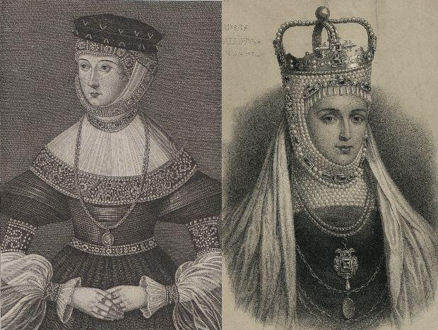 Dwa współczesne portrety Barbary Radziwiłłówny.
