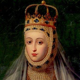 Barbara Radziwiłłówna. Jedna z wersji portretu koronacyjnego.