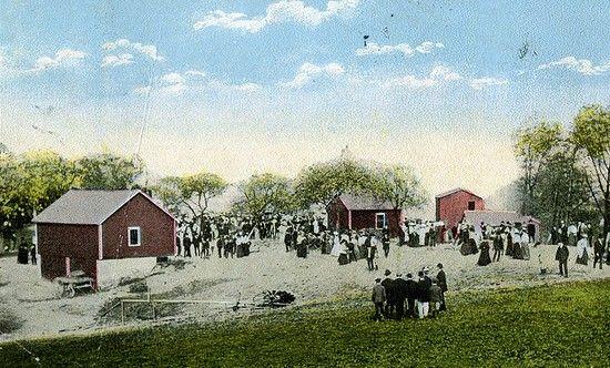 Farma należąca do Belle Gunness. To właśnie tam ginęły niczego nieświadome ofiary czarnej wdowy.