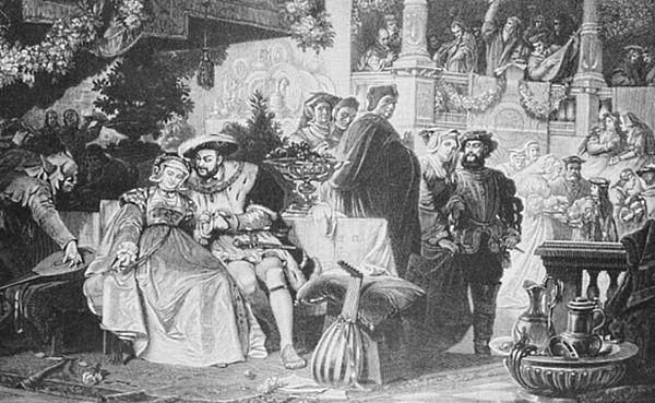 Wokół króla ręcił się zwykle tabun ludzi, a wszyscy musieli chodzić jak w zegarku.