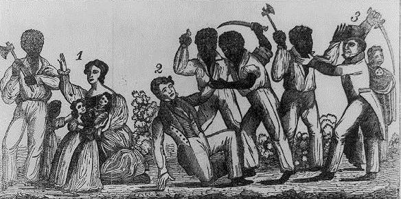 Rebelia Nata Turnera na ilustracji z epoki.