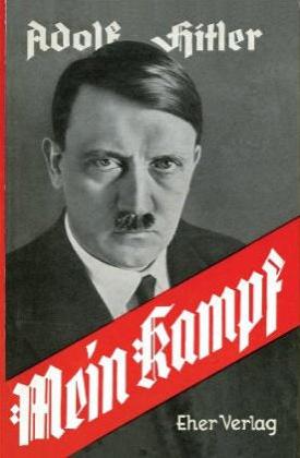 """""""Mein Kampf"""" - nazistowska biblia. Wiele wskazuje na to, że za jej ostatecznym kształtem stał katolicki ksiądz Bernhard Stempfle."""