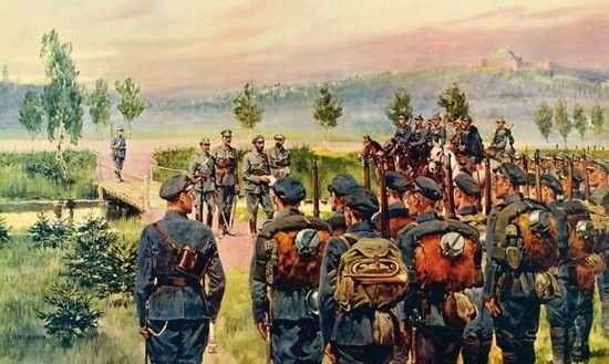 Ruszając na front Piłsudski i jego żołnierze liczyli na przychylne przyjęcie przez mieszkańców Kongresówki. Srodze się zawiedli, gdy przekroczyli granicę Królestwa Polskiego.