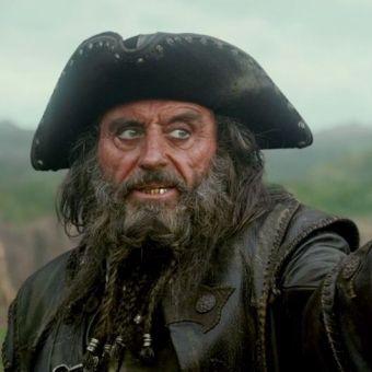 """Czarnobrody z """"Piratów z Karaibów"""" przynajmniej miał zepsute zęby..."""