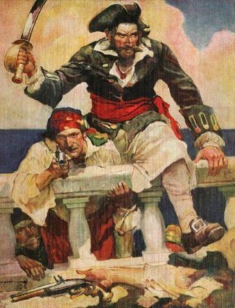Dzielni i przystojni piraci? Chyba raczej brudni, chorzy i bezzębni...