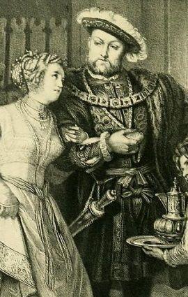 Nawet bogaci poddani drżeli na myśl o odwiedzinach Henryka VIII i jego dworu w swych włościach...