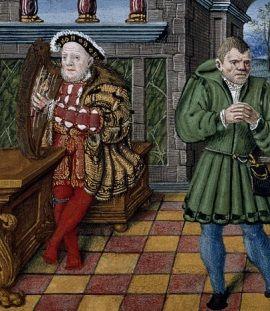 Henryk VIII miał łeb na karku. Niby spokojnie grał na harfie, a tymczasem jego dwór rujnował kolejnego nieszczęsnego gospodarza swoimi odwiedzinami.