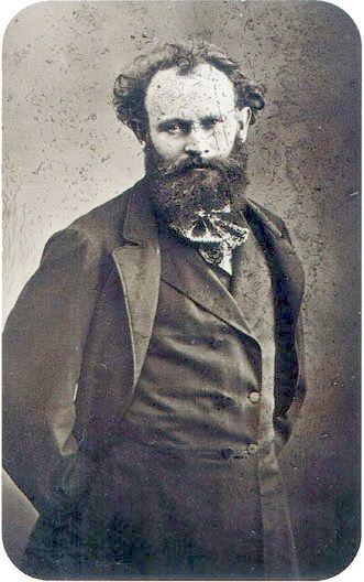 Edouard Manet miał w oczach ten nietypowy błysk, który mają wielcy artyści.