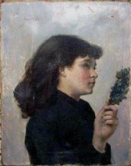 """Victorine nie była tylko ładną lalką z obrazu. Choć z jej prac nie zachowało się prawie nic, to przechowywany w muzeum w Colombes obraz """"Niedziela Palmowa"""" świadczy o tym, że była utalentowaną malarką."""