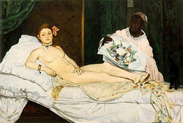 """""""Olimipia"""" to najsłynniejszy portret Victorine. Jego cień wisiał nad nią przez całe życie."""