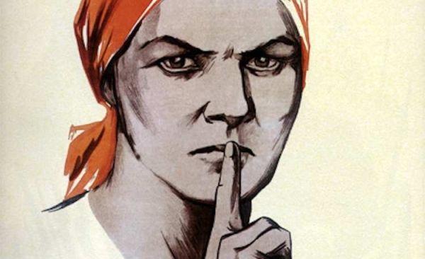 Dobry szpieg wie kiedy milczeć.