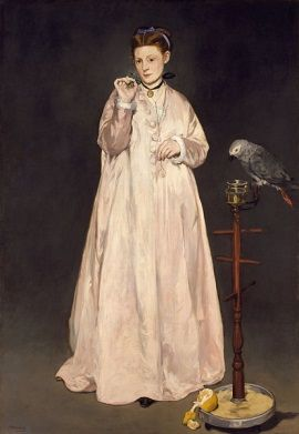 Victorine na lata zawładnęła malarstwem Maneta.