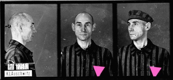 August Pfeiffer. Trafił do Auschwitz 1 listopada 1941 roku ukarany z paragrafu 175.