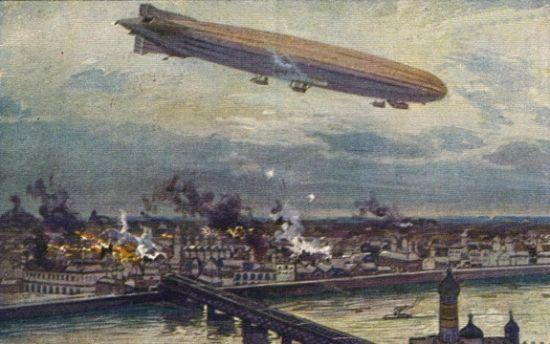 Polacy wcale nie zapomnieli o niemieckich zeppelinach bombardujących Warszawę w 1914 roku.