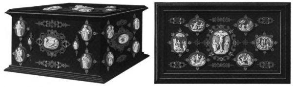 Zaginiona szkatuła Bony Sforzy na biżuterię.