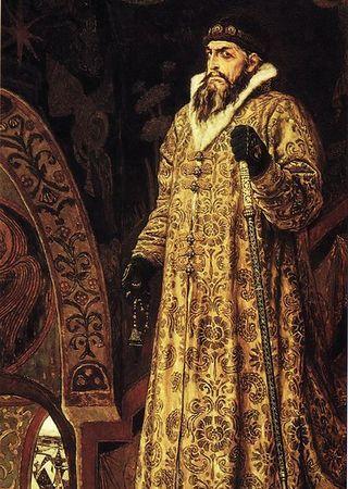 Iwan IV zwany Groźnym. Może i groźny, ale miał niezłego pietra, gdy dowiedział się o obecności wojska Radziwiłła.