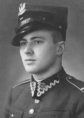 Jeden z najsłynniejszych kurierów AK Jan Nowak Jeziorański na zdjęciu z 1936 r.