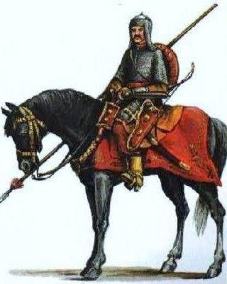 Towarzysz lekkiej jazdy litewskiej. To właśnie oni napędzili niezłego stracha Iwanowi Groźnemu.
