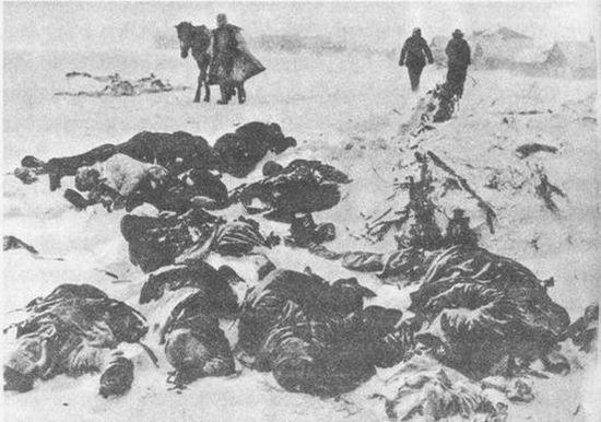 Pod Stalingradem mróz największe żniwo zbierał wśród żołnierzy walczących w stepie.